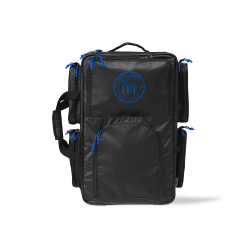 Mini Travel Bag Color - Blue Logo