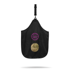 Horse Hay Bag Color - Logo Fuchsia
