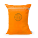 Equestrian Laundry Bag Dirty Bag - Orange / Black Logo