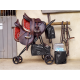 Rolling Saddle Rack Cart Saddle Sherpa