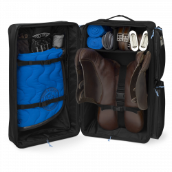 Competition Tack Case Travel Bag Color - Logo Blue