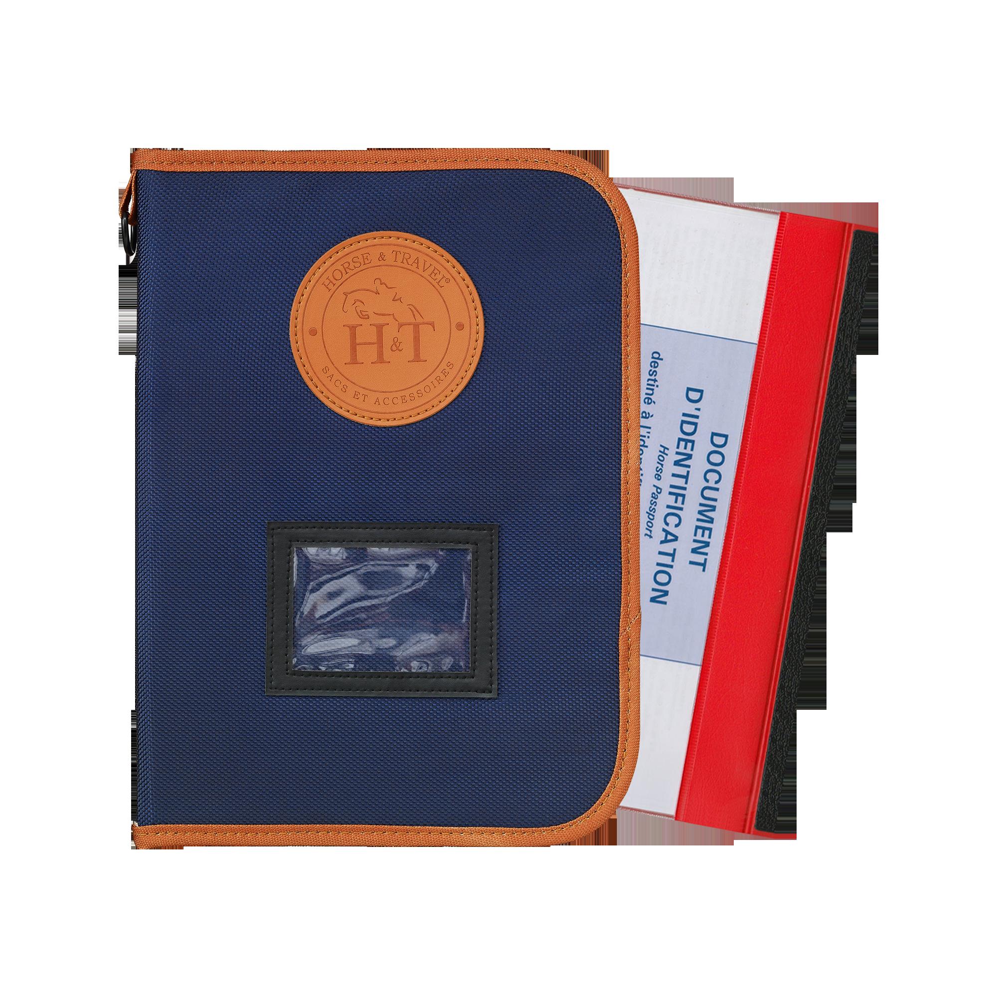 Pochette Livret Signalétique Cheval Pass-Pass Book 1680