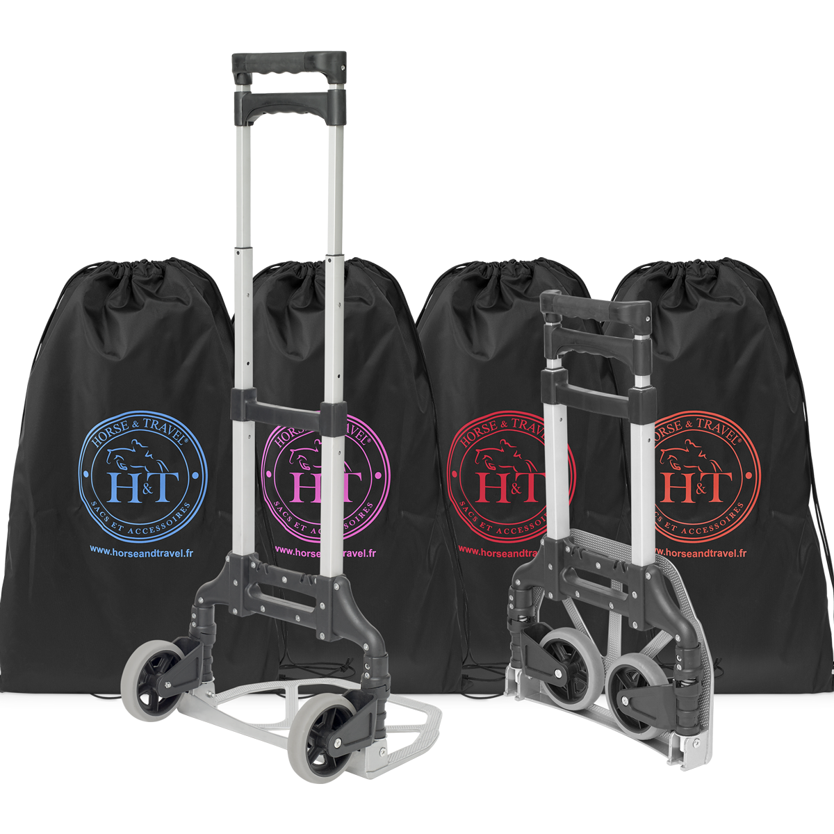 Trolley Travel Bag Color Horse &Travel