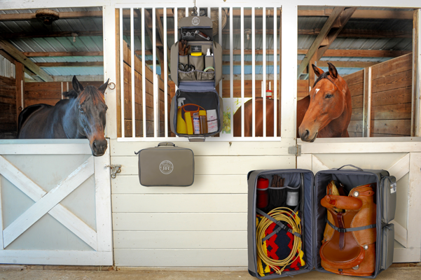 Equestrian Grooming Box Horse & Travel