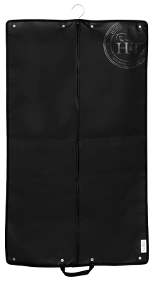 Horse Riding Garmet Bag Jack The Cover Black and White Logo