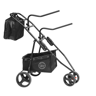 Foldable Rolling Saddle Rack Cart Saddle Sherpa